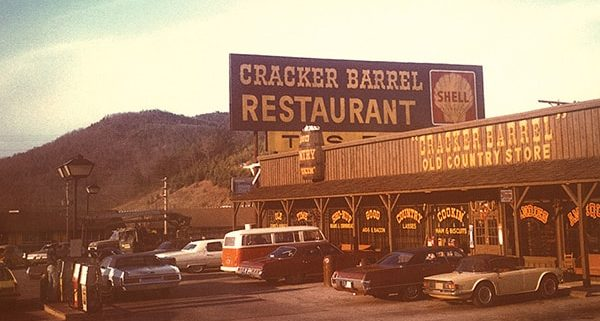 1977 Cracker Barrel Store