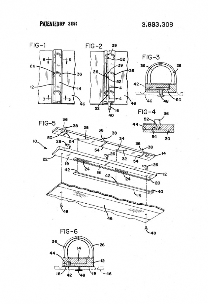 Trapper Keeper Patent