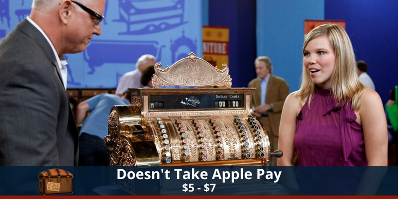Antiques Roadshow Apple Pay