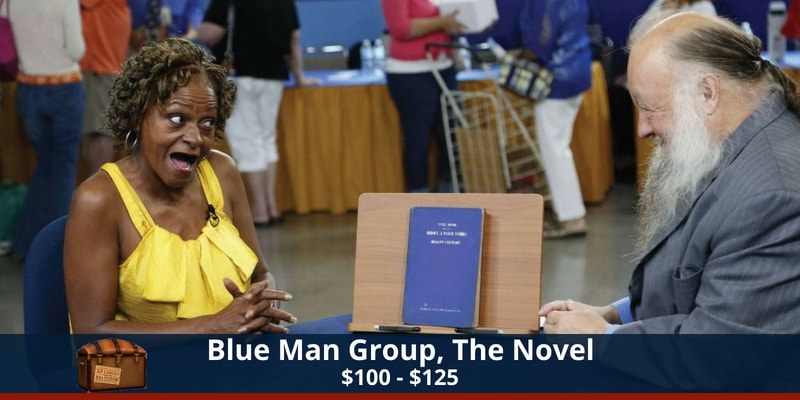 Antiques Roadshow Blue Man Group Novel
