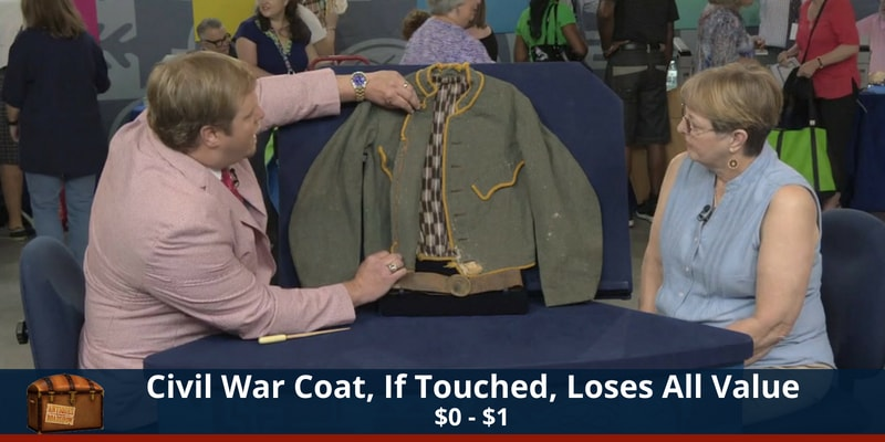 Antiques Roadshow Civil War Jacket