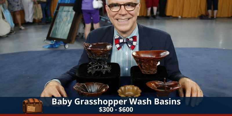 Antiques Roadshow Grasshopper Basin