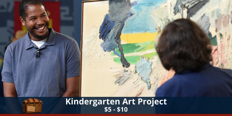 Antiques Roadshow Kindergarten Art