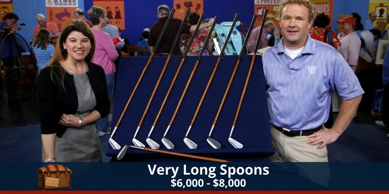 Antiques Roadshow Long Spoons