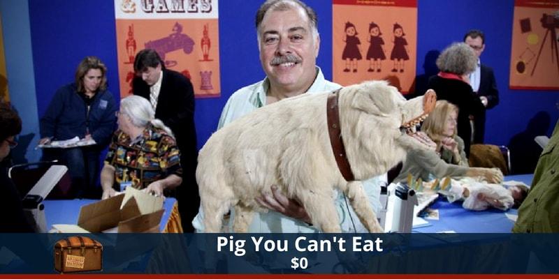 Antiques Roadshow Pig