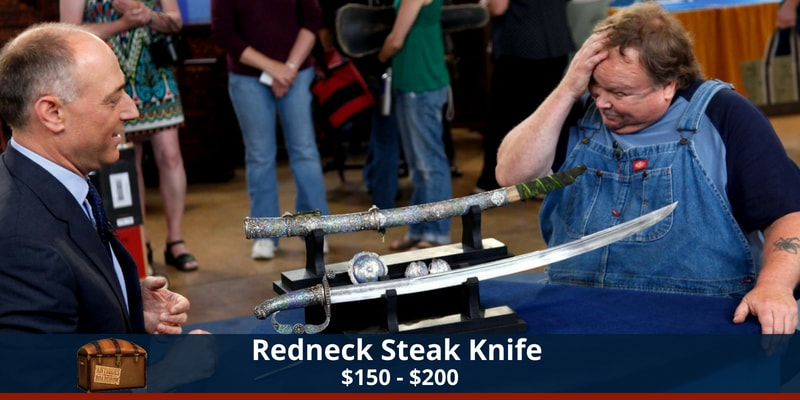 Antiques Roadshow Steak Knife