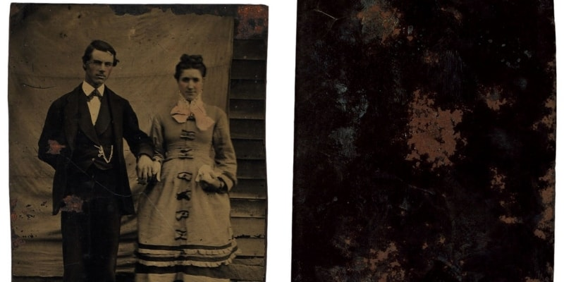 Rusted Tintype