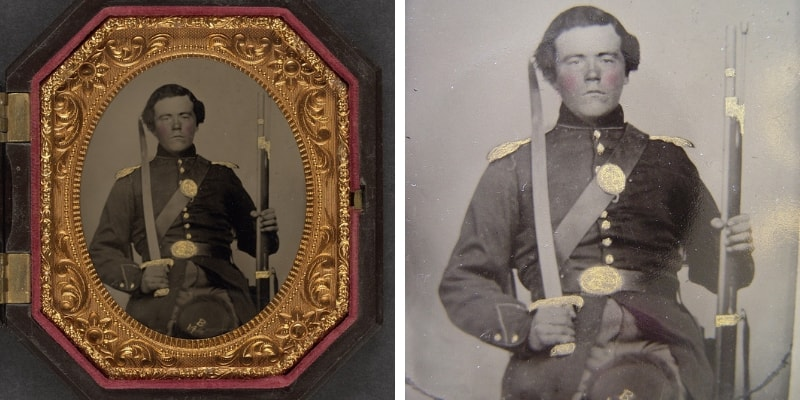 Union Soldier Tintype