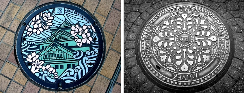 Beautiful Manhole Covers