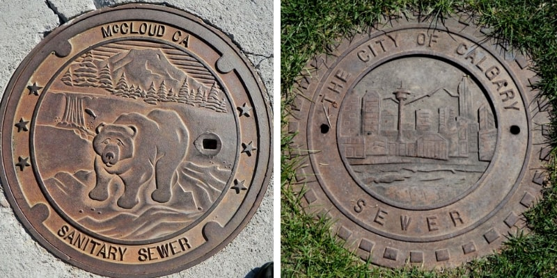 Manhole Covers California and Canada