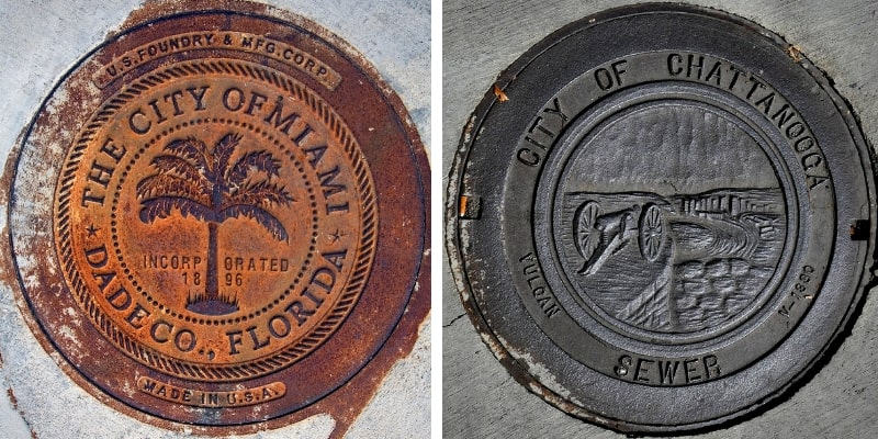 Manhole Covers in Florida and Tennessee