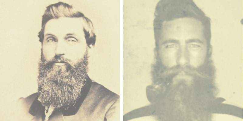 Civil War Beard and Hipster
