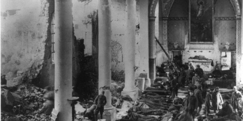 WW1 Army Hospital in France