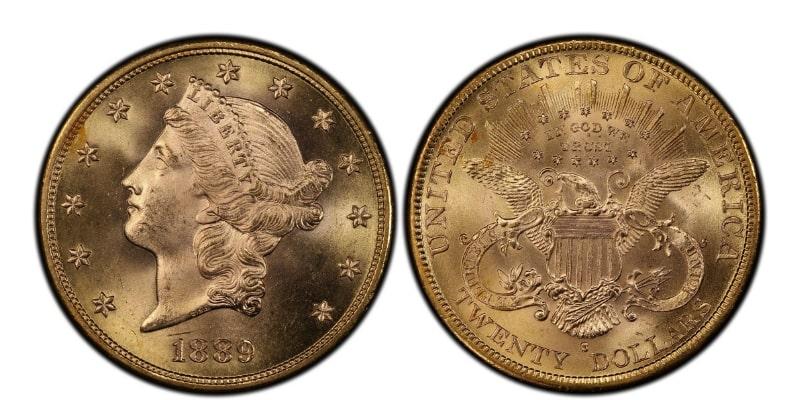 1889 Gold Coin