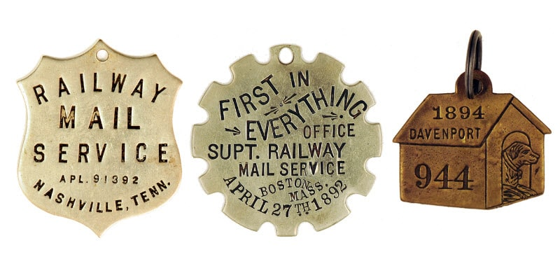 Owney Dog License Tags