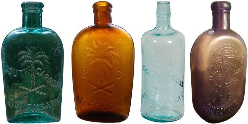 S.C. Dispensary Glass Bottles